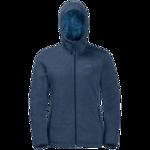 Dark Indigo Fleece Jacket Women