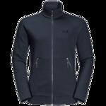 Night Blue Fleece Jacket Men