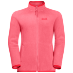 Coral Pink 3-In-1 Jacket Girls