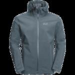 Storm Grey Ultralight And Packable Jacket Men