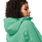 Pacific Green Ultralight And Packable Jacket Women