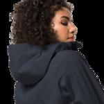 Night Blue Rain Jacket Women