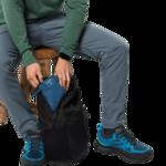 Indigo Blue Ultralight And Packable Jacket Men