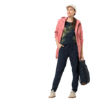 Rose Quartz Lightweight Rain Jacket