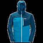 Blue Jewel Mens Hiking Jacket