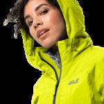 Flashing Yellow Lightweight Hiking Jacket