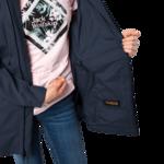 Midnight Blue Lightweight Rain Jacket