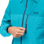 Dark Aqua Lightweight Hiking Jacket