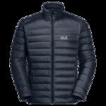 Night Blue Windproof Down Jacket Men