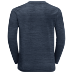 Night Blue Long Sleeve Top With Uv Protection