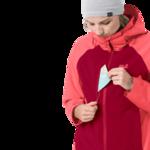Scarlet Eco-Friendly Waterproof Jacket