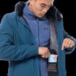 Dark Cobalt Lightweight Rain Jacket