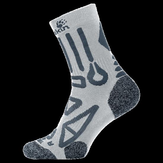 Grey Haze Hiking Socks