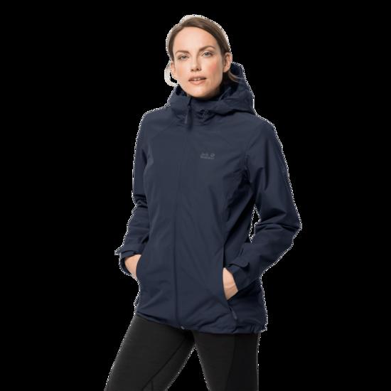 Midnight Blue 3-In-1 Hardshell Jacket Women