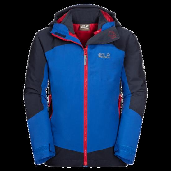 Coastal Blue 3-In-1 Hardshell Jacket Kids