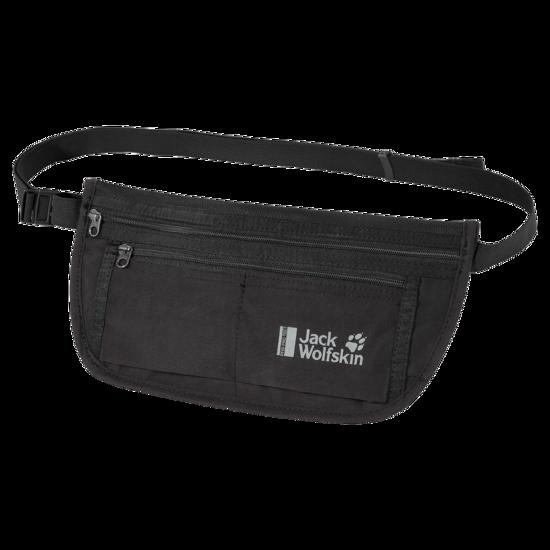 Black Travel Belt Bag