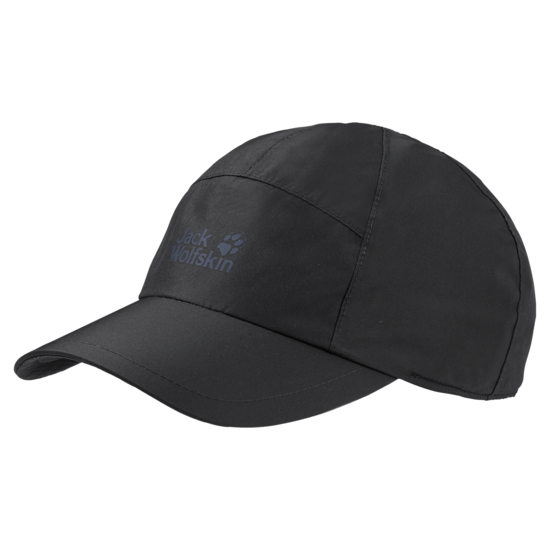 Black Texapore Ecosphere Waterproof Baseball Cap