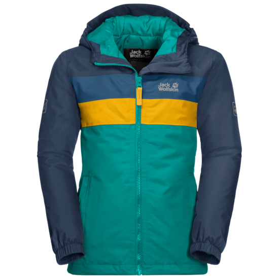 Green Ocean Four Lakes Kids' Winter Jacket