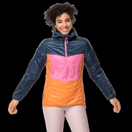 Dark Indigo Windproof Insulated Jacket Women