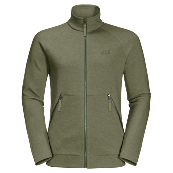 Light Moss Fleece Jacket Men