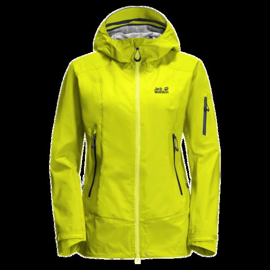 Flashing Green Waterproof Hiking Jacket