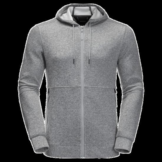 Slate Grey Lightwight Stretchy Fleece