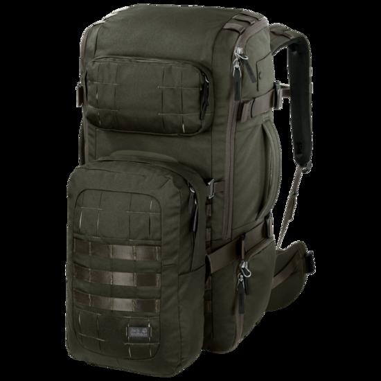 Dark Green Travel Pack