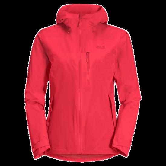 Tulip Red Lightweight Hiking Jacket