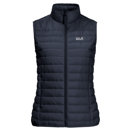Night Blue Windproof Quilted Vest Women