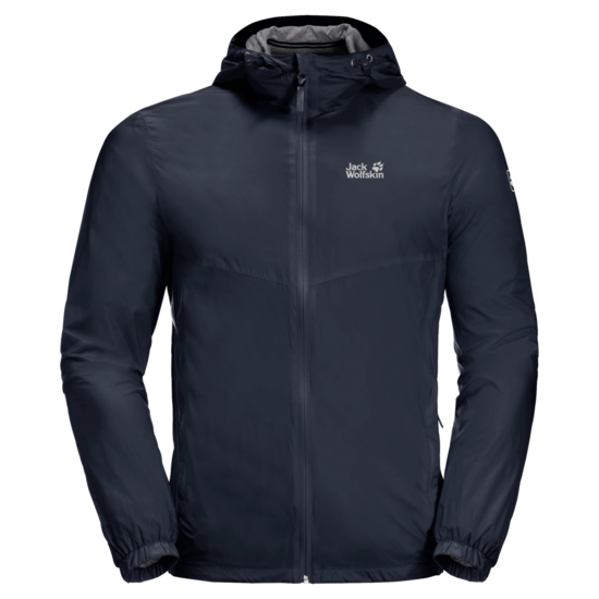 Night Blue Windproof Summer Jacket Men