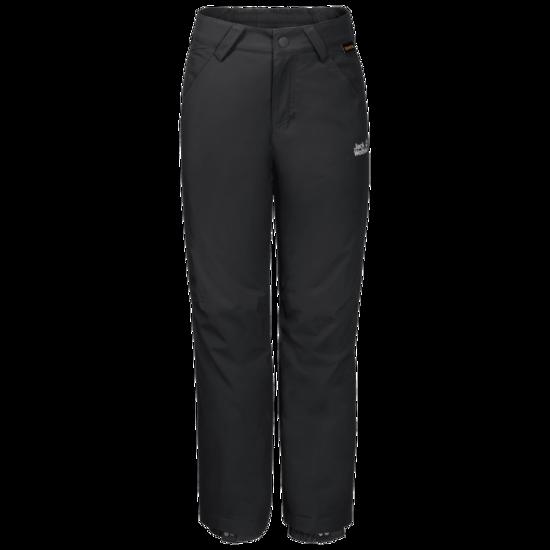 Black Waterproof Winter Pants Kids