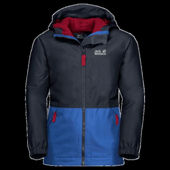 Night Blue Waterproof Jacket Kids