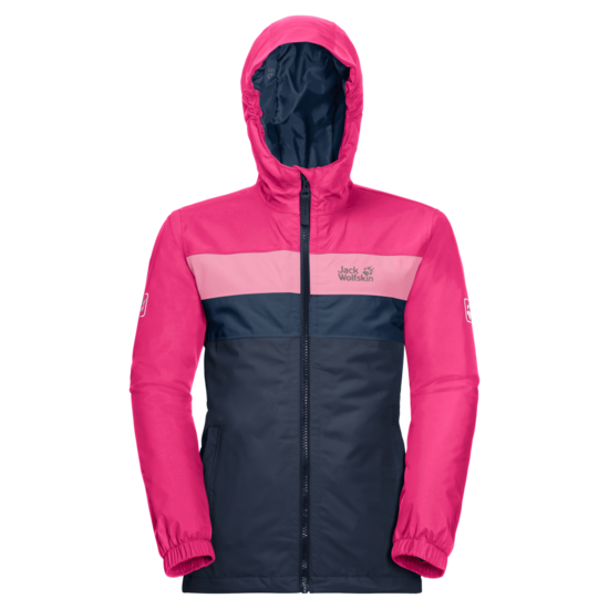 Night Blue Waterproof Winter Jacket Kids