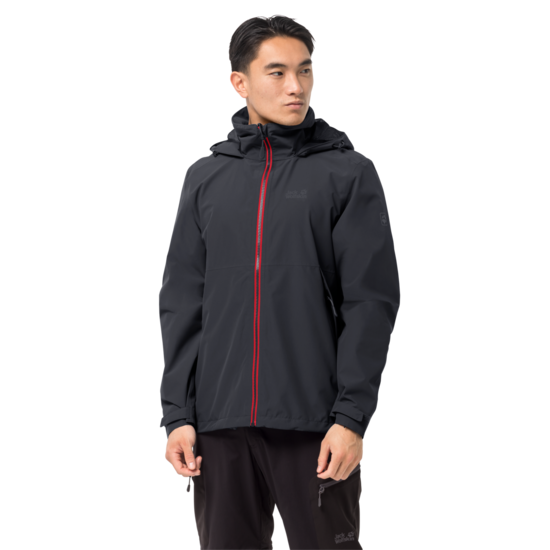 Ebony Lightweight Rain Jacket