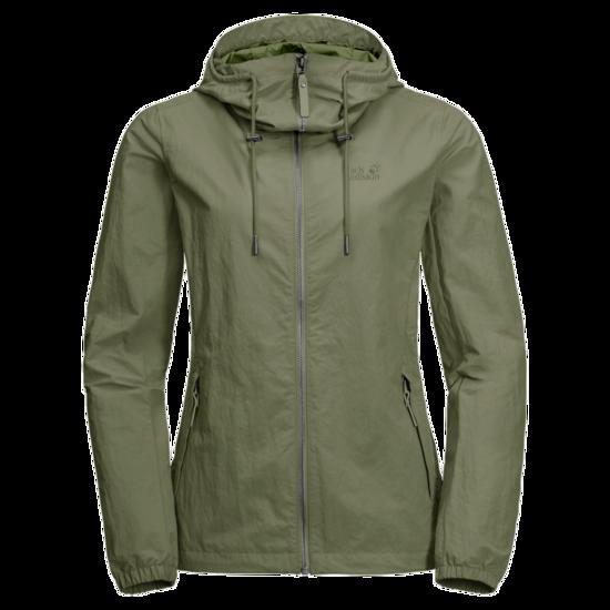 Light Moss Mosquito Proof Jacket Women