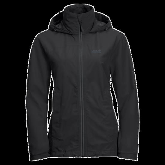 Black Lightweight Rain Jacket