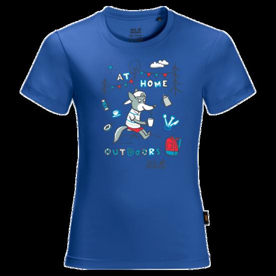 Coastal Blue Youth Hiking T-Shirt