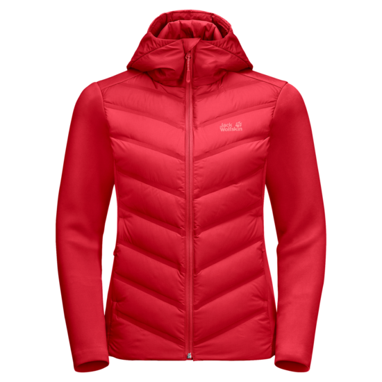 Tulip Red Insulated Hybrid Hoodie