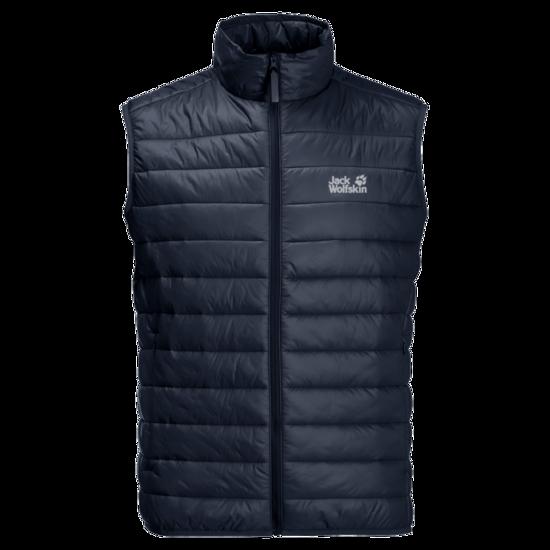 Night Blue Windproof Quilted Vest Men