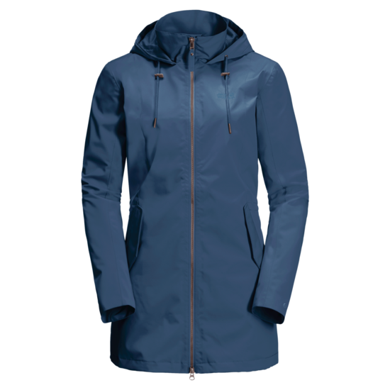 Ocean Wave Lightweight Rain Jacket