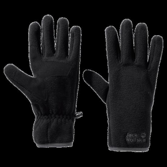 Black Recycled Fleece Fabrics